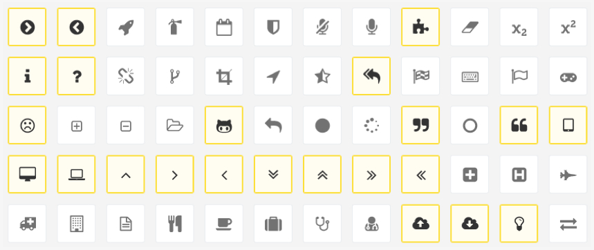 Creating custom icon fonts without the bloat